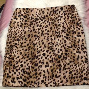 NWT Philosophy leopard print pencil skirt